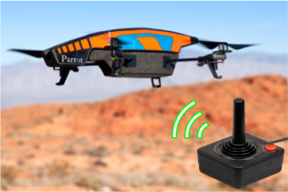 Up And Flying With The ARDrone ROS Joystick Control