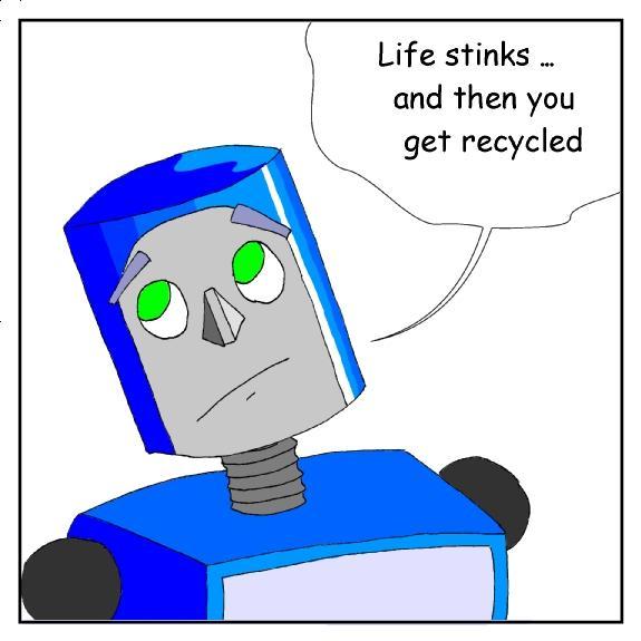 No.1 : Nate the Robot