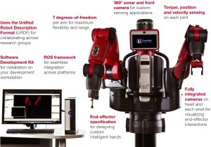 Research version of Baxter, from Rethink Robotics