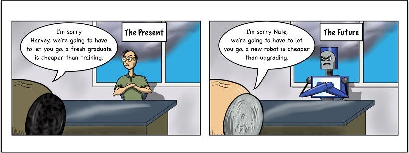 Nate the Robot RH.5: Nothing Ever Changes