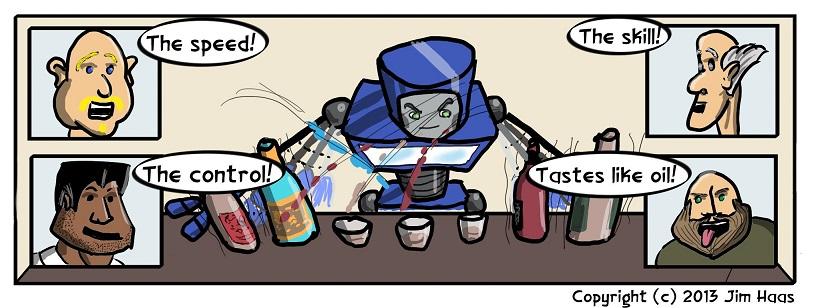Robot Bartending