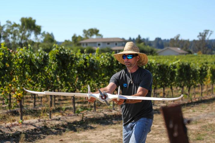 Ten lessons for farm drones