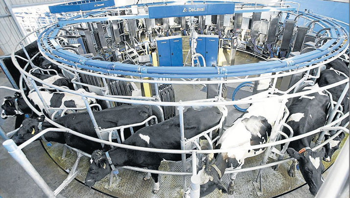 Robotic-milking-system