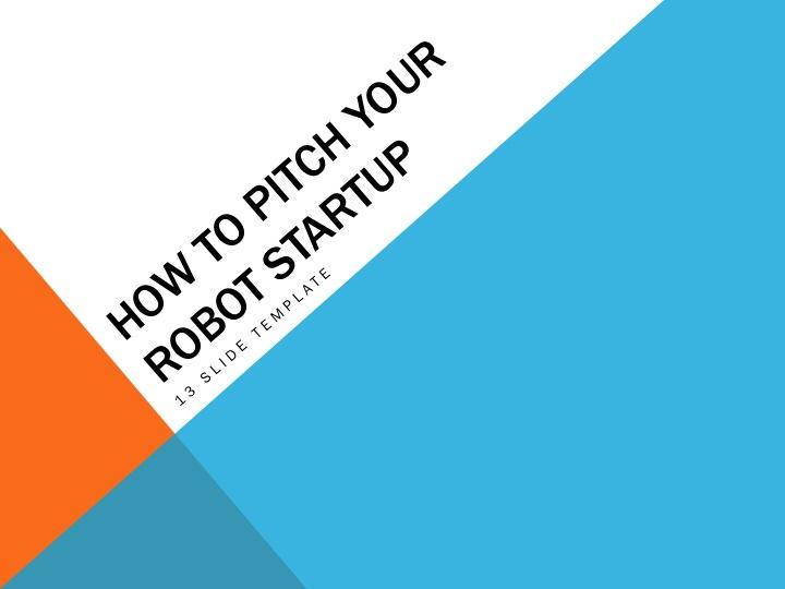 Robot Startup Resources