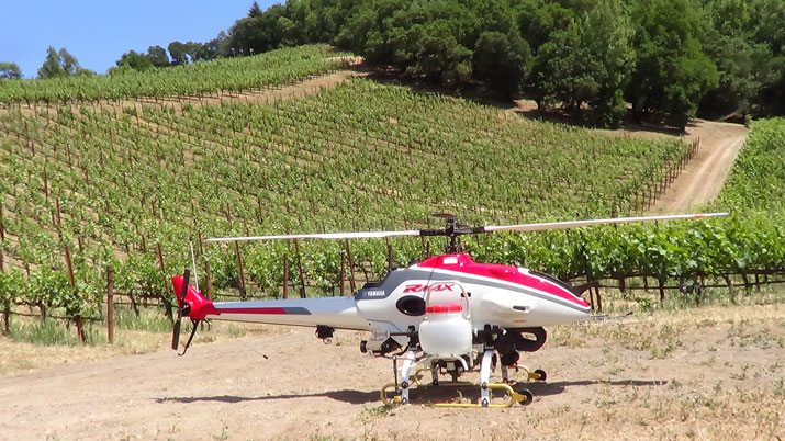 Lay of the land unmanned systems coming to commercial agriculture yamaharmax2 sciox Images