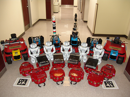 robots used in research by Distributed Intelligence Laboratory