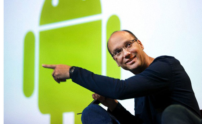 Photo: Andy Rubin, Head of Google's Robot Revolution, former head of Android.