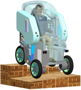 photo of Personal Intelligent City Accessible Vehicle (PICAV)