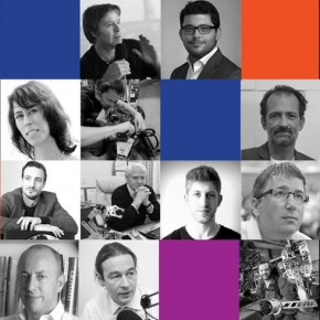 composite photo of speakers at RoboForum