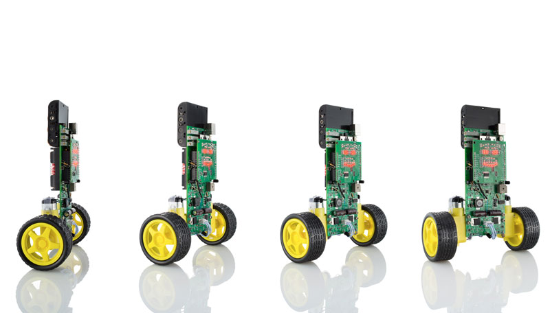 Arduino powered balancing robot for education hacking and