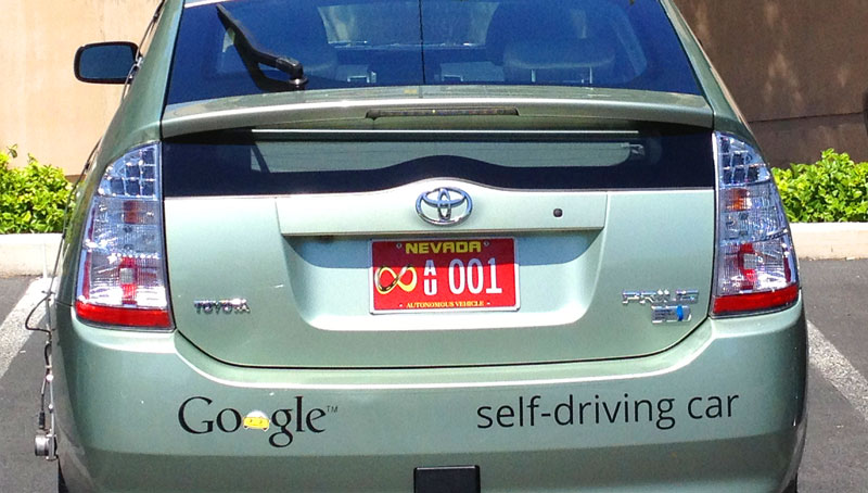 google_car_nevada_test_license_plate