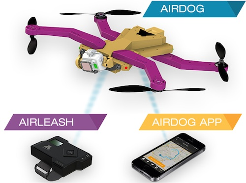 photo of AirDog from Kickstarter campaign page