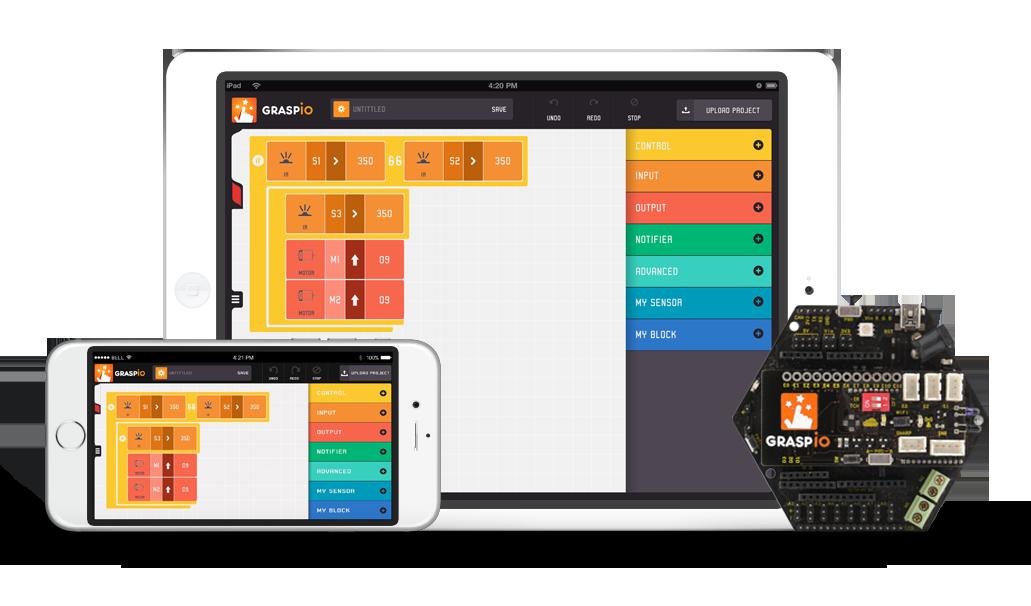 1.Mobile App & Board