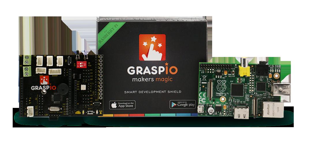 4.GRASP IO Shield for Raspberry Pi