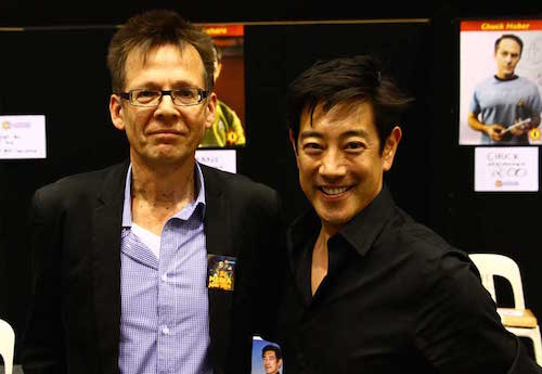 Grant Imahara with Ron Vanderkley