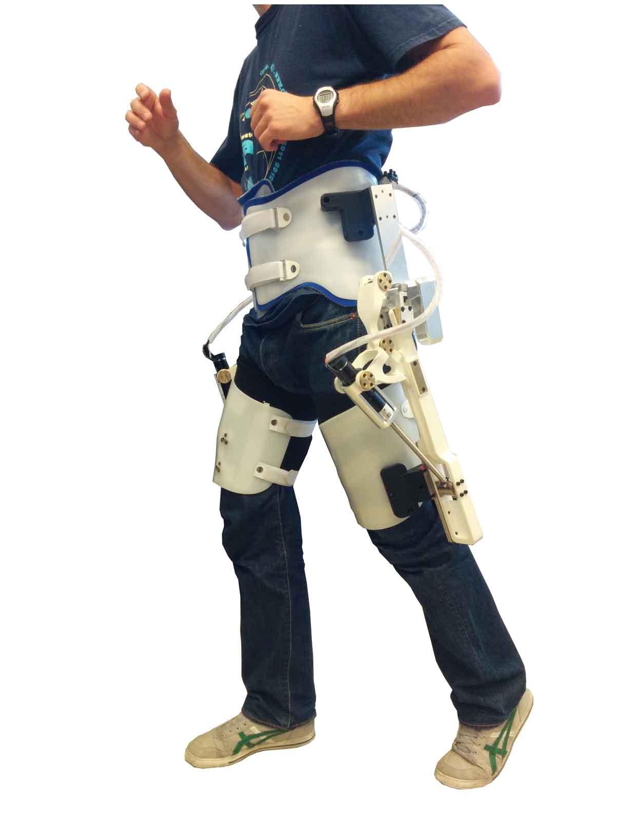 Exoskeleton device for the elderly