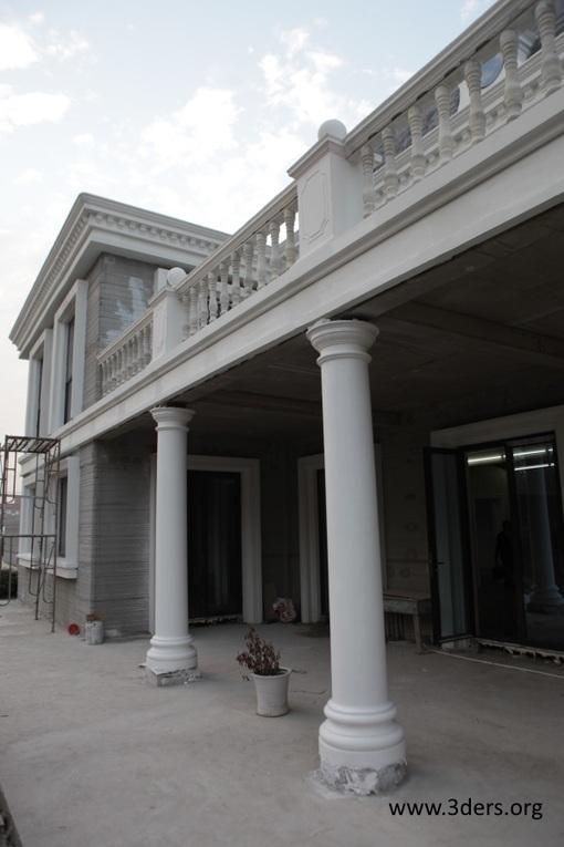 Winsun builds 3d printed villa and apartment building - Winsun decoration design engineering co ...