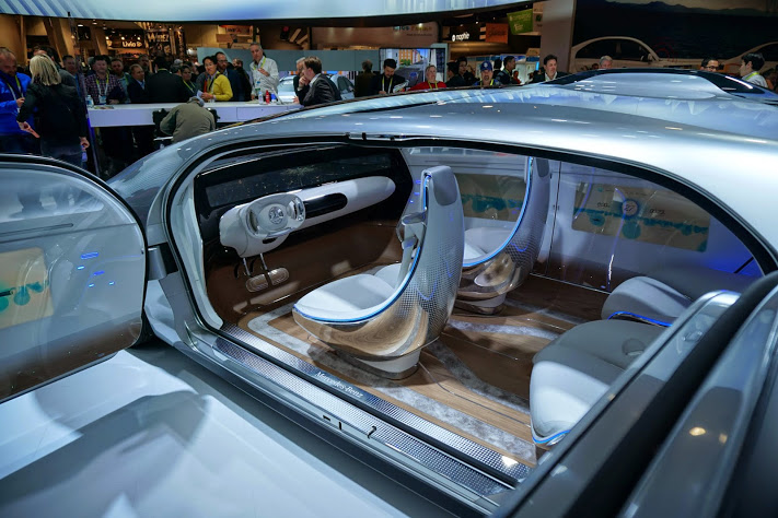 Mercedes at CES 2015.