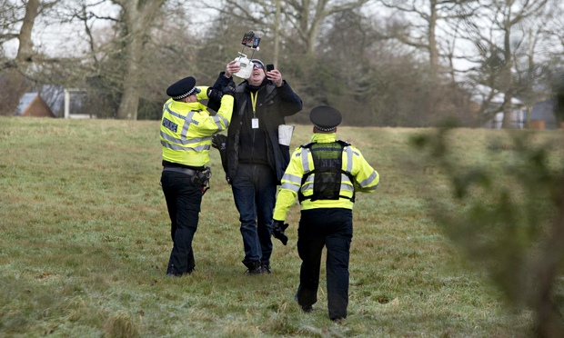 A photojournalist was arrested in England for flying a drone, but was later released without charge. Credit: Darren Cool