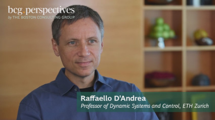 Raffaello D'Andrea speaks to the Boston Consulting Group about the future of robotics.