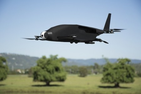 Skyprowler Convertible Drone Quad Or Fixed Wing Doing