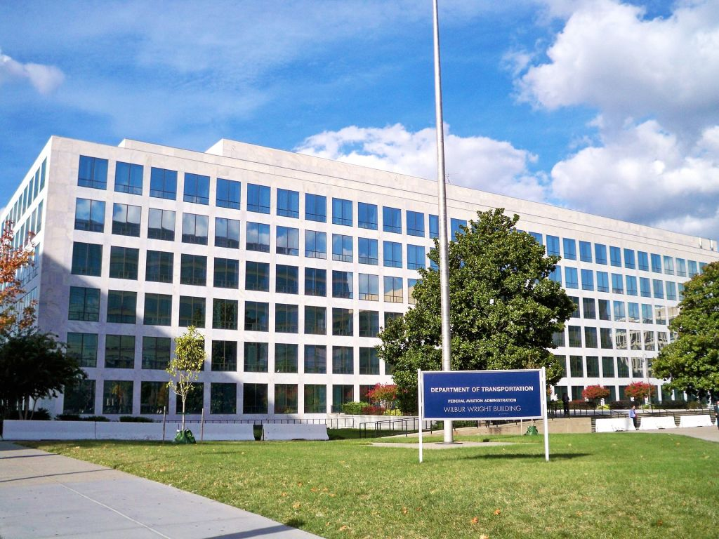 The Federal Aviation Administration building in Washington D.C. Credit: Matthew Bisanz // Wikipedia