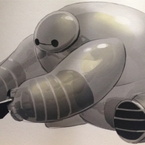 Baymax concept. Source: Walt Disney Animation Studios