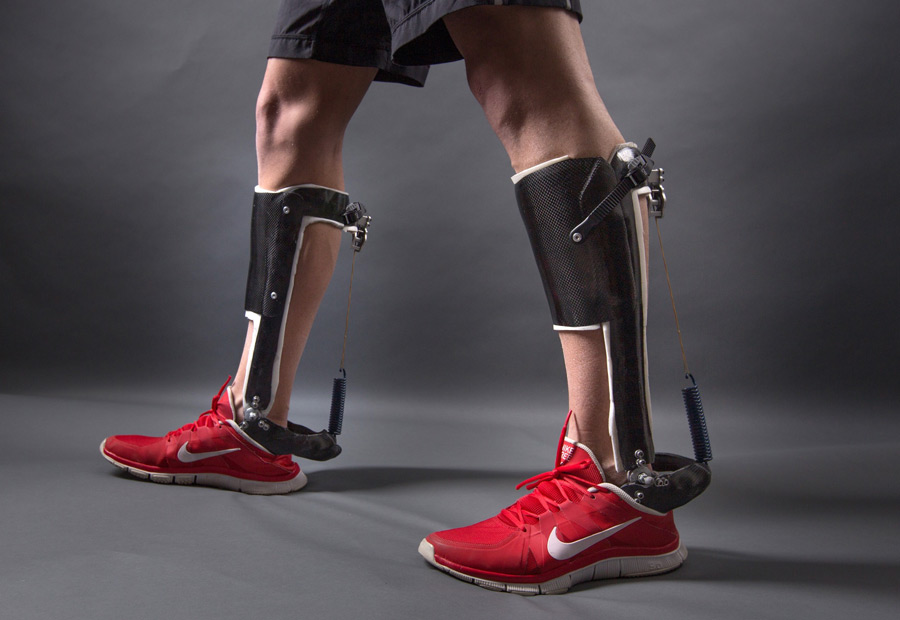 unpowered exoskeleton improves efficiency of human walking | robohub, Muscles