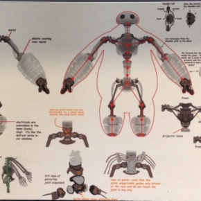 Baymax concept skeletons. Source: Walt Disney Animation Studios