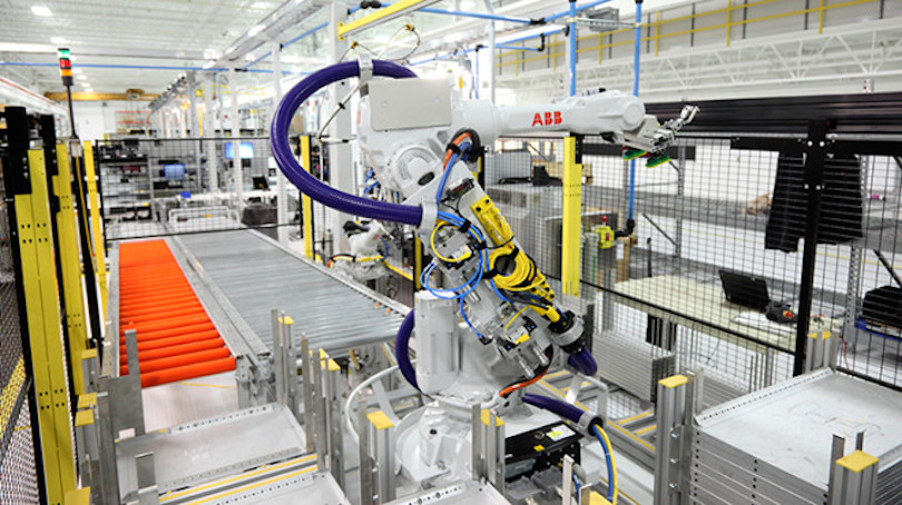 ABB factory in the US.