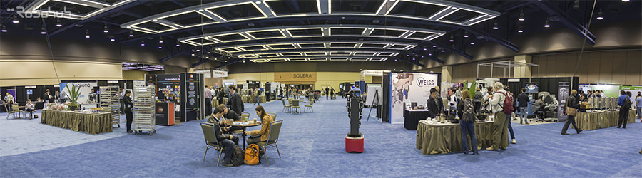 ICRA 2015 - exhibition hall
