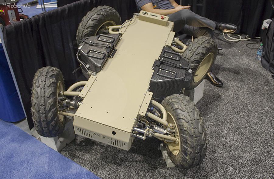 GRP 4400 wheeled platform - American Robot Company