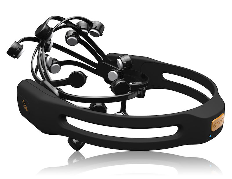 Emotiv Epoc BCI Headset. Source: Emotiv