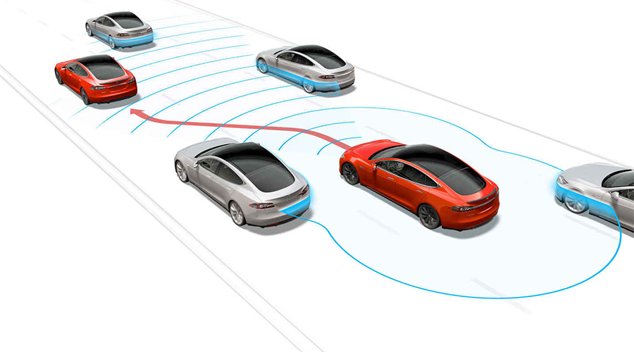 Tesla Motors autopilot (photo:Tesla)