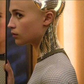 "Alicia Vikander stars as Ava in Alex Garland's ""Ex Machina"", with visual effects by Double Negative, Milk VFX, Utopia and Web FX."