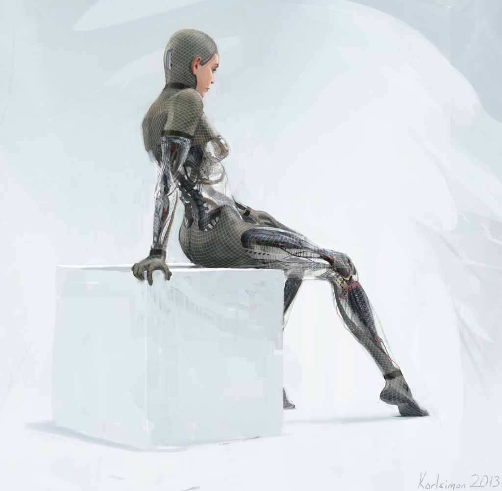 Ava concept art by Karl Simon Gustafsson