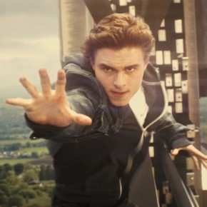 The film's ambitious climactic scenes, during which Sean (Callan McAuliffe) rides on the exterior of the massive Skyship, proved particularly challenging.