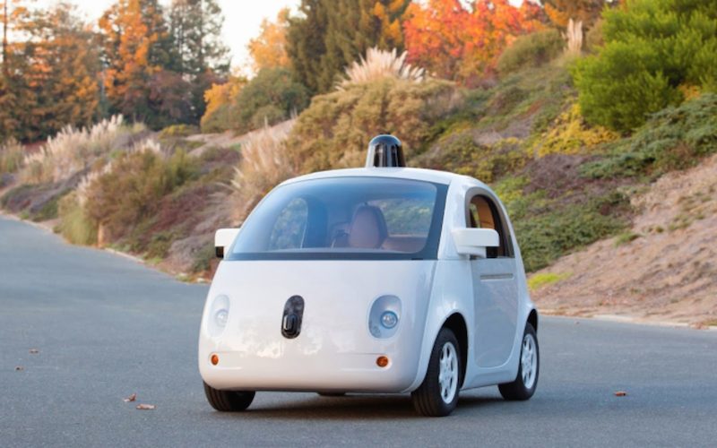 Google's self driving car. Source: Google