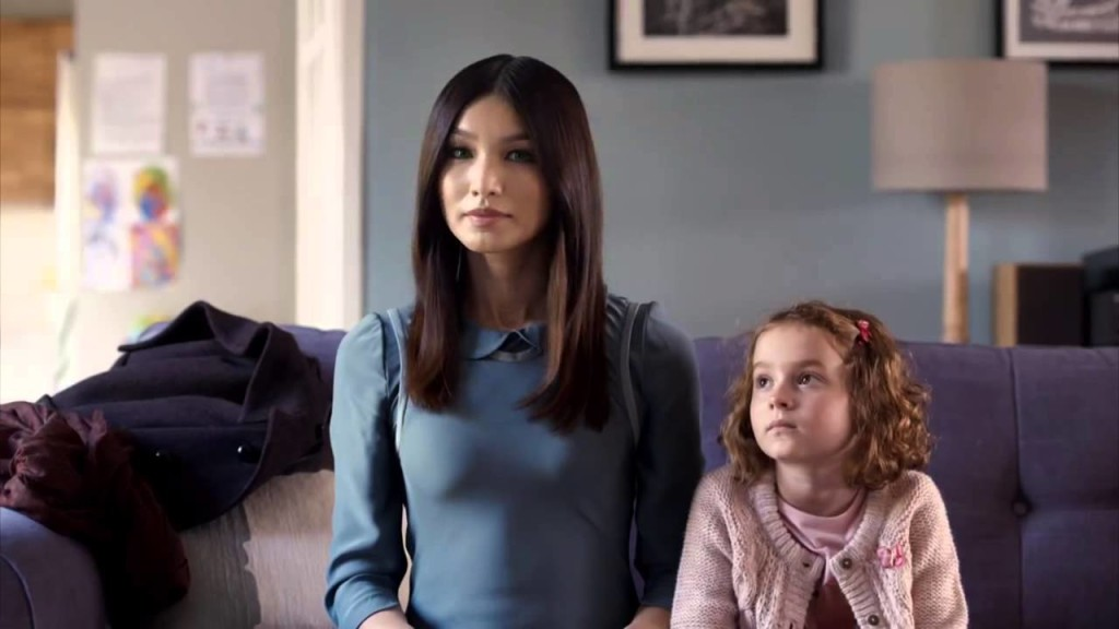 Gemma Chan plays the synth Anita in Humans. Source: Channel 4