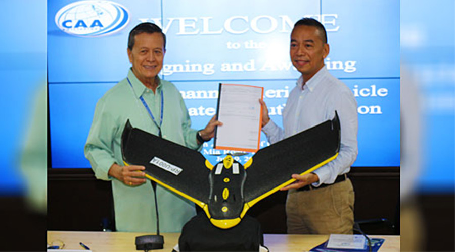 The Philippines issued its first commercial drone permit last week. Source: Business World Online