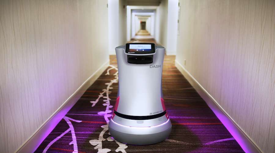 Savioke Relay Dash delivery robot. Source: Savioke