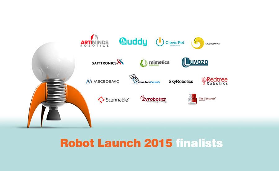 Robot Launch global robotics startup competition announces