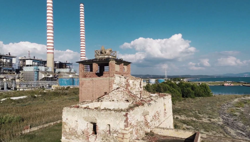 The location of euRathlon 2015 competition at Torre del Sale, Piombino, Italy. Photo credits: EURATHLON