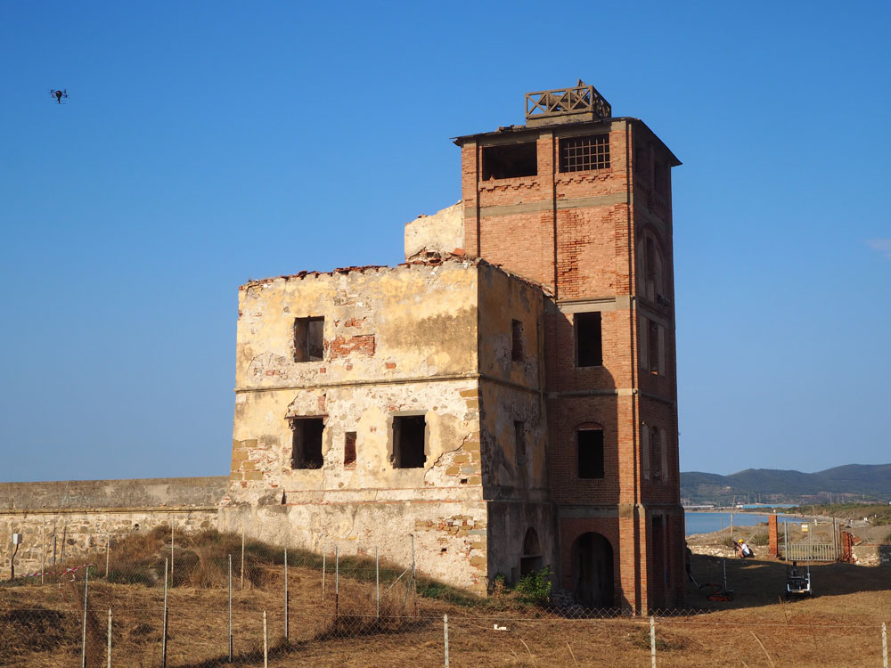 Torre del Sale, Piombino, was the location chosen for simulating the euRathlon's Fukushima-like disaster. Photo Credit: euRathlon