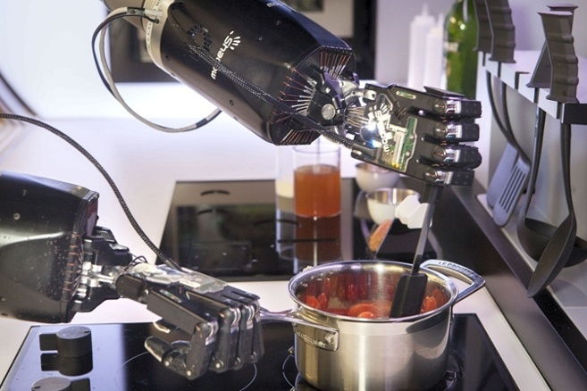 feeding the robot chef robohub. Black Bedroom Furniture Sets. Home Design Ideas