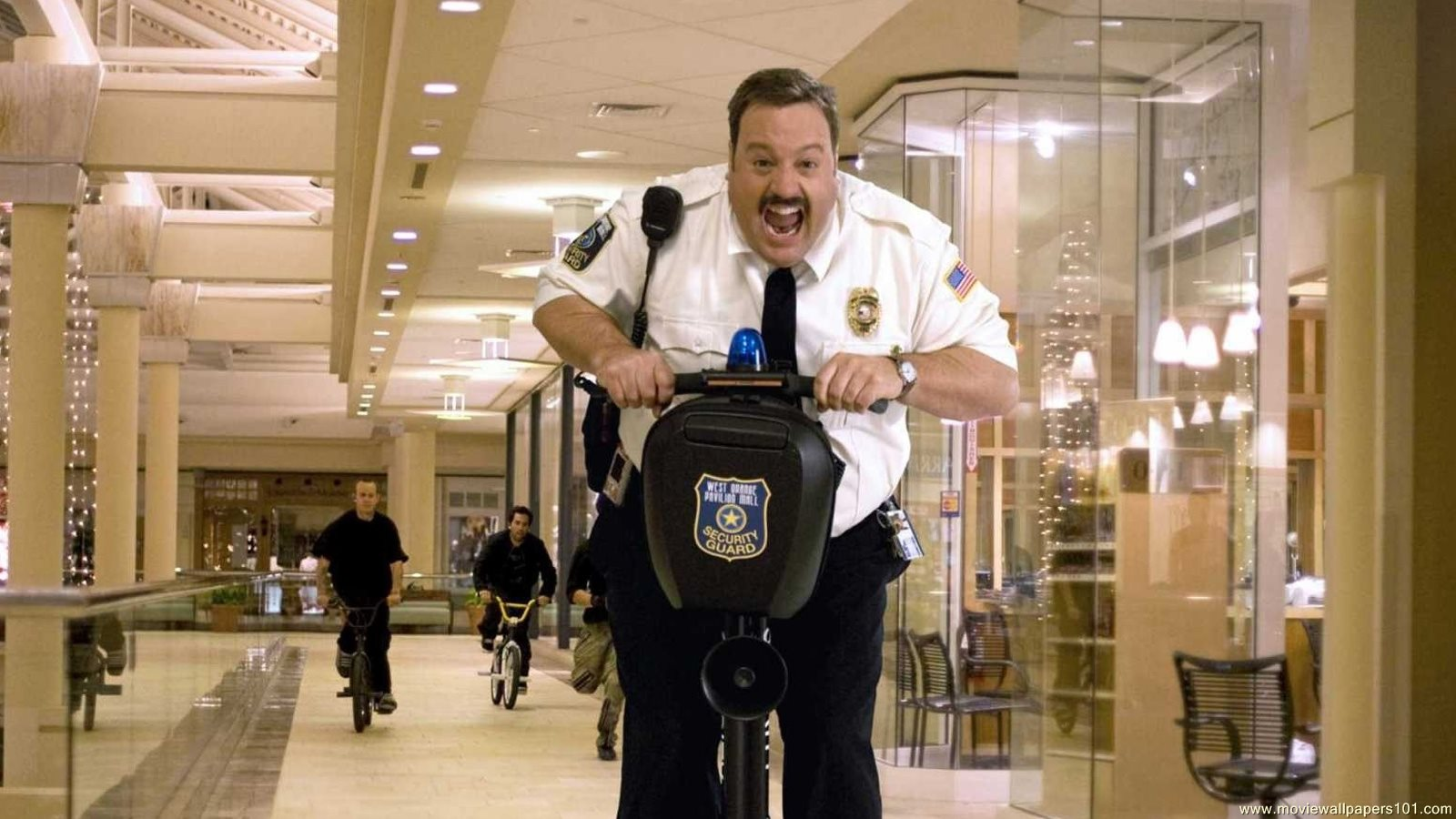 Scene from Paul Blart: Mall Cop 2.