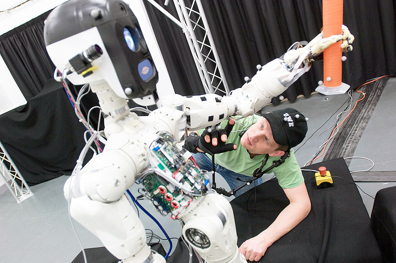 Research labs around Europe open their doors to the public November 23-29 for European Robotics Week #ERW15. Photo credit: Bristol Robotics Laboratory