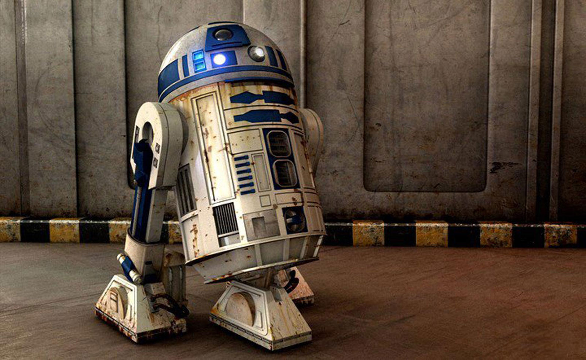 R2D2_Starwars_robot