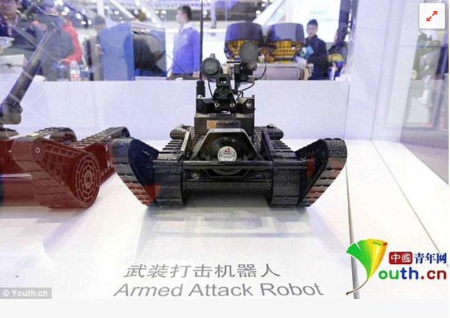 military robots in china pdf