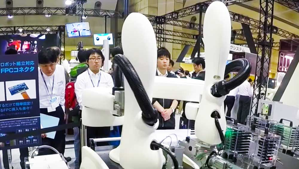 Collaborative-Robots-at-IREX-2015---YouTube